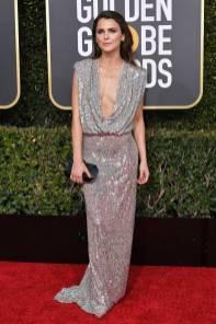 Keri Russell ai Golden Globes 2019