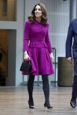 La Duchessa di Cambridge in Oscar de la Renta alla Royal Opera House
