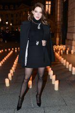Lea Seydoux al Boucheron cocktail party, Paris