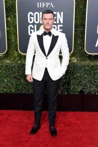 Luke Evans ai Golden Globes 20193