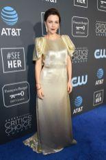 Maggie Gyllenhaal in Prada ai 2019 Critics' Choice Awards