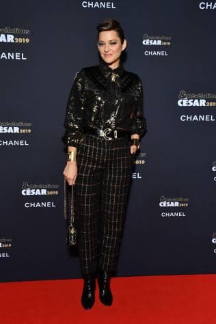 Marion Cotillard in Chanel al Cesar-Revelations 2019, Paris