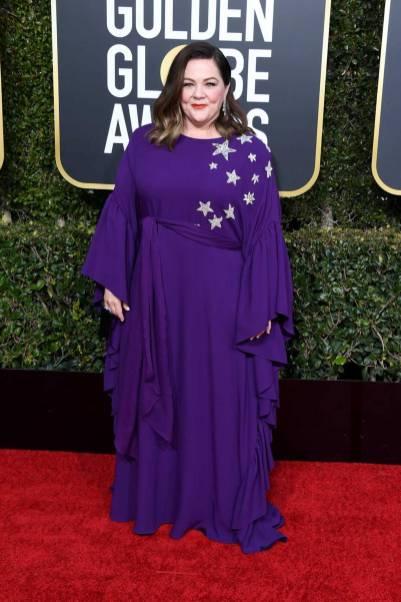 Melissa McCarthy ai Golden Globes 2019