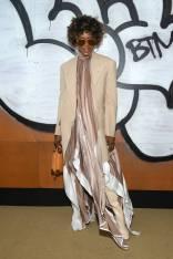 Naomi Campbel al Louis Vuitton Show Arrivals, Paris -