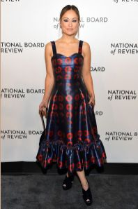 Olivia Wilde in Jonathan Cohen alla National Board of Review Awards Gala, New York
