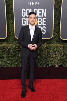 Rami Malek ai Golden Globes 2019