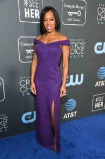 Regina King in Michael Kors ai 2019 Critics' Choice Awards