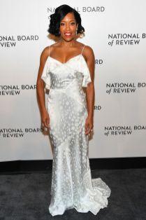 Regina King in Zac Posen alla National Board of Review Awards Gala, New York