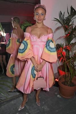 Adwoa Aboah in Simone Rocha al Love x The Store Party, London