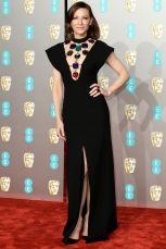 Cate Blanchett con gioielli Pomellato ai BAFTAs 2019, London