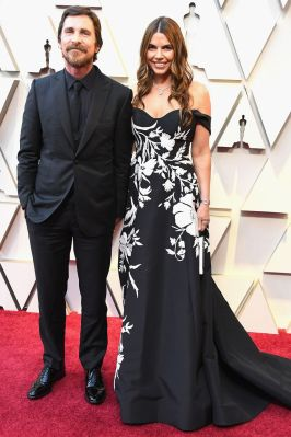 Christian e Sibi Bale agli Oscars 2019,LA