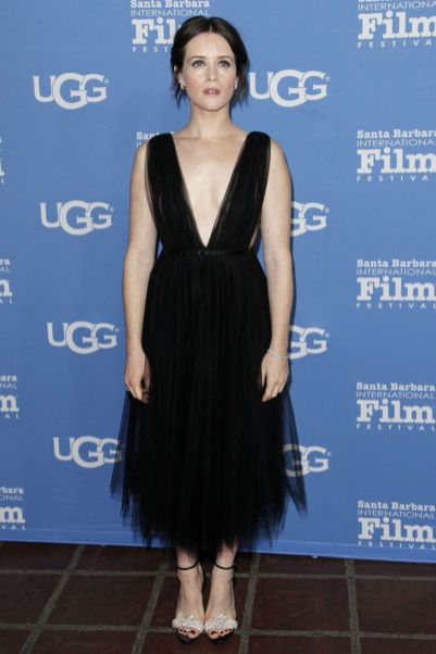 Claire Foy al Santa Barbara International Film Festival.