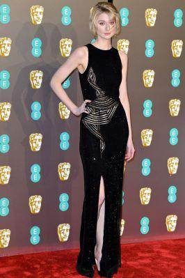 Elizabeth Debicki ai BAFTAs 2019, London