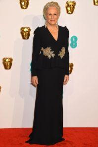 Glenn Close ai BAFTAs 2019, London