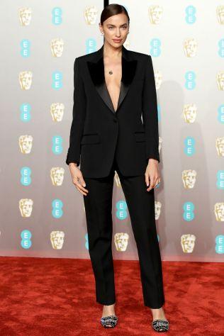 Irina Shayk ai BAFTAs 2019, London