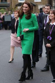La Duchessa di Cambridge in Eponine London in supporto del Children's Mental Health