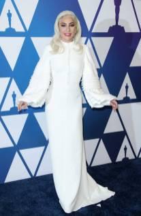 Lady Gaga in Louis Vuitton al The Academy Awards Nominees Luncheon, Los Angeles