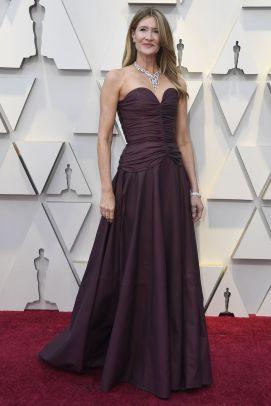 Laura Dern in Rodarte agli Oscars 2019,LA