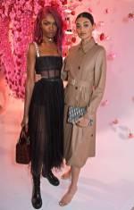 Leomie Anderson e Neelam Gil al Maison Christian Dior Cocktail Party, London