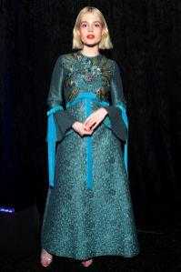 Lucy Boynton in Gucci al Santa Barbara Film Festival