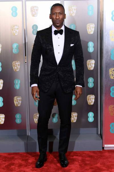 Mahershala Ali ai BAFTAs 2019, London