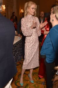 Nicole Kidman in Emilia Wickstead all'HBO preview event for Big Little Lies season two
