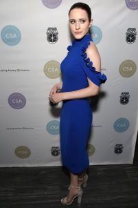Rachel Brosnahan in Christian Siriano ai Artios Awards.