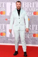 Sam Smith ai Brit Awards 2019, London