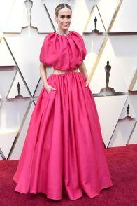 Sarah Paulson in Brandon Maxwell agli Oscars 2019,LA