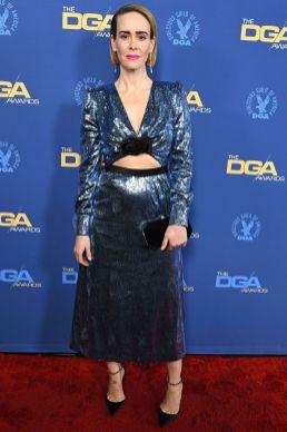 Sarah Paulson in Miu Miu ai Directors Guild Of America Awards