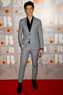 Shawn Mendes ai Brit Awards 2019, London