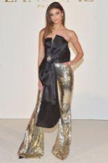 Taylor Hill in Azzaro alla presentazione di Zendaya come ambassador di Lancôme