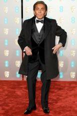 Valentino Garavani ai BAFTAs 2019, London