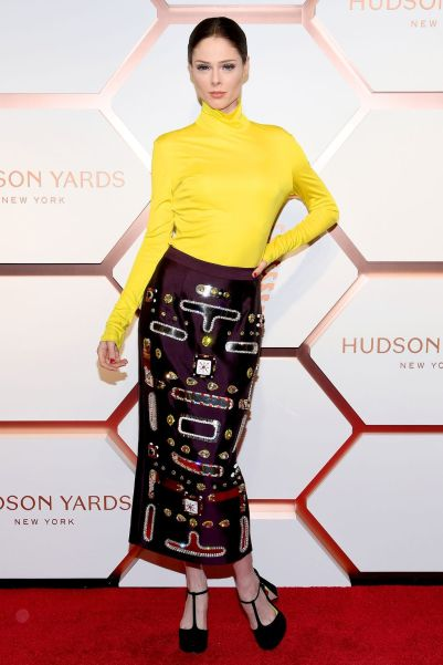 Coco Rocha al Hudson Yards event, New York