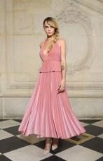 Cara Delevingne in Dior alla sfilata DIor AW 2019/2020