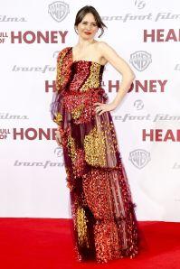 Emily Mortimer in Peter Pilotto alla Head Full of Honey premiere, Berlin.