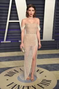 Emma Roberts in Yanina COuture al Vanity Fair Oscar after party, LA