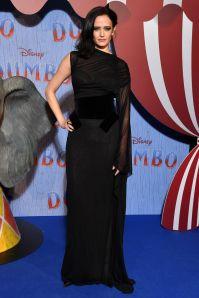 Eva Green in Tom Ford alla premiere Dumbo, Paris
