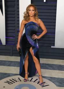 Jennifer Lopez in Zuhair Murad al Vanity Fair Oscar after party, LA