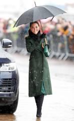 La Duchessa di Cambridge con la borsa Manu Atelier, Blackpool