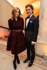 La PRincipessa Beatrice e Edoardo Mapelli Mozzi al The National Portrait Gallery Gala 2019, London