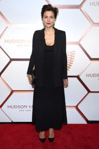 Maggie Gyllenhaal al Hudson Yards event, New York