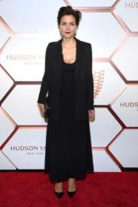 Maggie Gyllenhaal al Hudson Yards event, New York