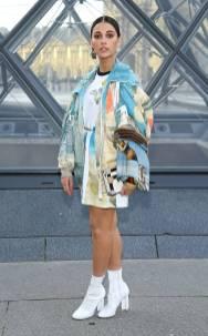 Naomi Scott al Louis Vuitton Fashion Show, Paris