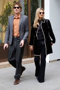 Nikolai von Bismarck and Kate Moss, Paris