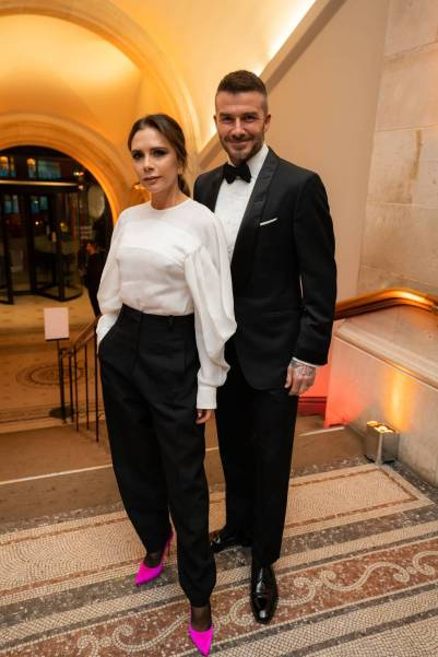 Victoria e David Beckham al The National Portrait Gallery Gala 2019, London
