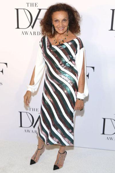 Diane Von Furstenberg ai DVF Awards