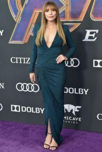 Elizabeth Olsen in Alexander Vauthier alla premiere of Avengers Endgame, LA