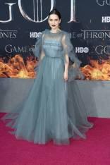 Emilia Clarke in Valentino alla 'Game of Thrones' Season 8 Premiere, New York
