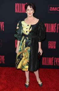 Fiona Shaw in Simone Rocha alla Killing Eve Season 2 Premiere, Hollywood